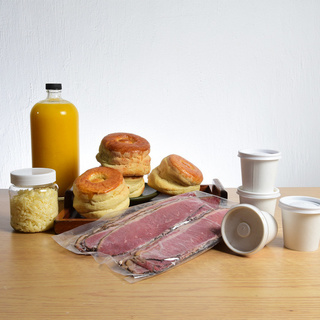 Kit Bisquets de Roast Beef