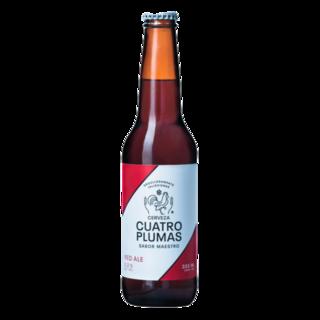 Cerveza Red Ale Cuatro Plumas